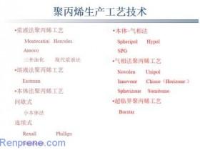 深度分析国产PP聚丙烯产品牌号与生产工艺