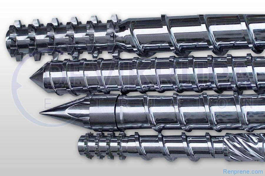 单螺杆挤出机的螺杆包括哪些基本参数?