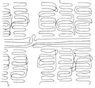 分子结构对高分子聚合物的结晶能力有何影响?