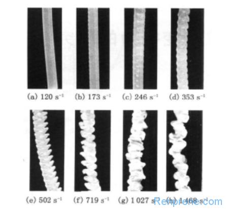 高聚物挤出外观缺陷研究