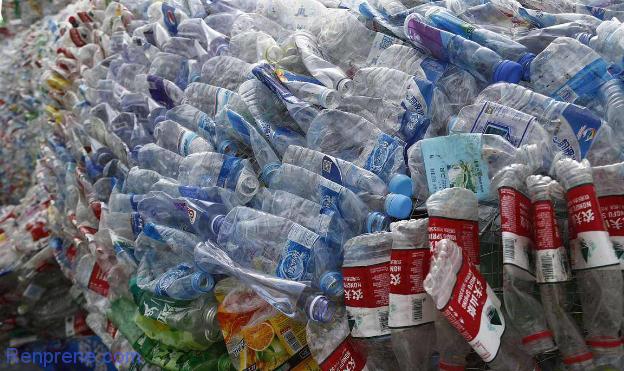 废旧塑料回收循环利用